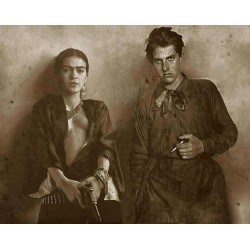 Frida Khalo - fake with Vladimir Mayakovsky