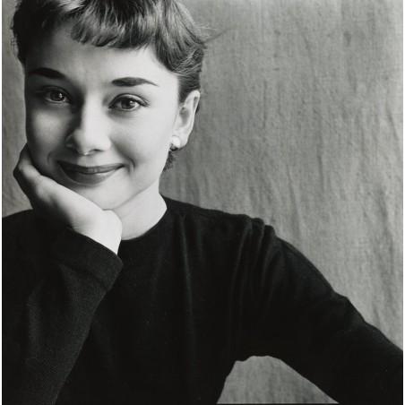 Irvin Penn - Audrey Hepburn - Paris 1951