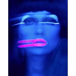 Melvin Sokolsky - Lip Streaks - Donna Mitchell - NY 1967