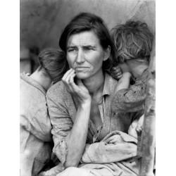 Dorothea Lange - Migrant mother Florence Owens Thompson -...