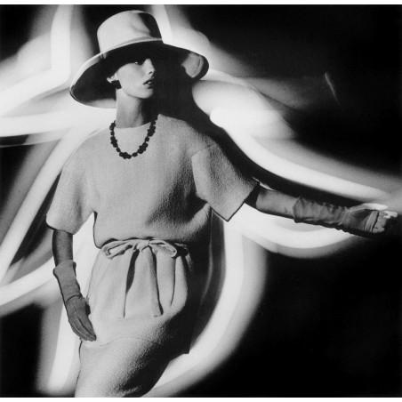 William KLEIN - Dorothy Fashion Lights 2 - 1962