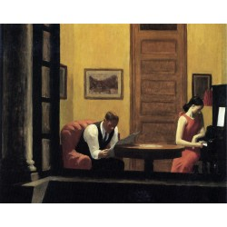 Edouard Hopper - Zimmer_in_New_York - 1932