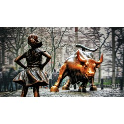 Nishanth Gopinathan - fearless-girl-and-wall-street-bull-statues 3