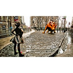 Nishanth Gopinathan - fearless-girl-and-wall-street-bull-statues
