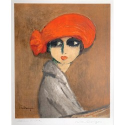 Kees van Dongen - The Corn poppy - 1960