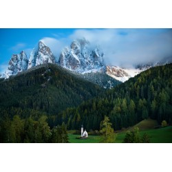 Chris Burkard - St Johann church - Val di Funes