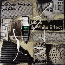 Sophie Costa - black white effect