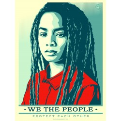 Shepard Fairey - We the people 3