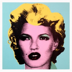 Banksy - Kate Moss - Purple - 2005 1