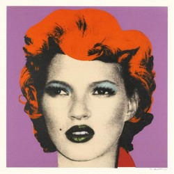 Banksy - Kate Moss - Purple - 2005 2