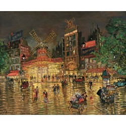 Konstantin Korovin - Moulin Rouge