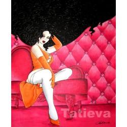 Tatieva - Pink Rose 1