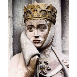 Uta von Naumburg - Uta de Ballenstedt - - anonym sculptor