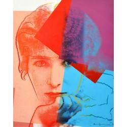 Andy Warhol - Sarah Bernard