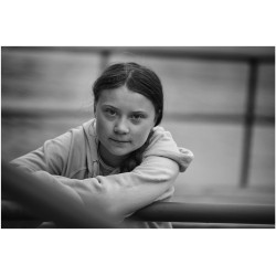 Peter Linbergh  - Greta Thunberg - 2019