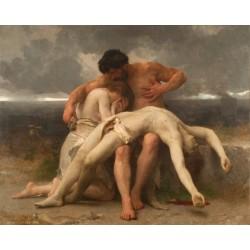 William Bouguereau - 1er deuil - 1888
