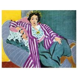 Henri Matisse - Small Odalisque In A Purple Robe - 1937