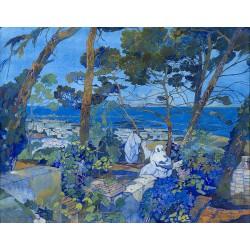 Leon Cauvy - Port Alger - 1922