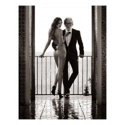 Mark Segal - model Aiden shaw and Eniko Mihalik