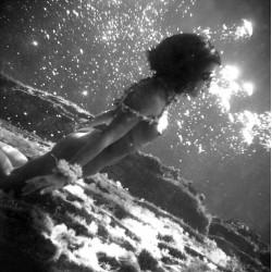 Serge de Sazo - l ile aux sirenes BW - 1953