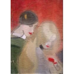Helene Schjerfbeck - Arvesmykket - 1916