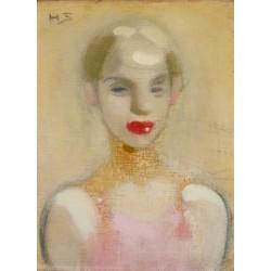Helene Schjerfbeck - Circus Girl - 1916