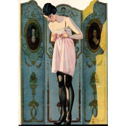 Coles Phillips - Luxite Hosiery ad - 1920