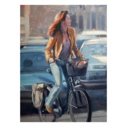 Douglas Gray - Roman Girl on a Bike