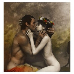 Jan Saudek - Kiss of Death