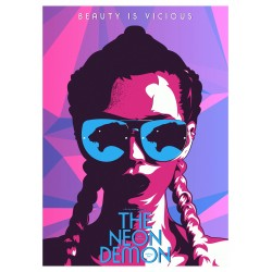 Hamza Ansari - posterspy com  - The Neon Demon