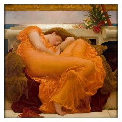 Frederick Leighton - Burning June - 1895