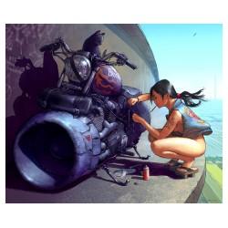 Steven Stahlberg - Skybike witch