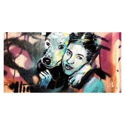 Alice Pasquini - GirlandDog Berlin streetart