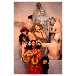 Inge Prader - recreated Gustav Klimt  masterworks 2