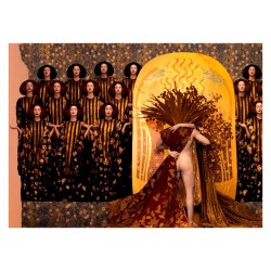 Inge Prader - recreated Gustav Klimt  masterworks 3