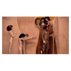 Inge Prader - recreated Gustav Klimt  masterworks
