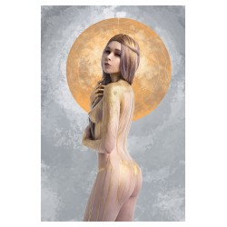 Sergey Shetukhin - Aku - Golden Goddess - model Maria