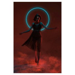 Sergey Shetukhin - Aku - Neon Witches - model Appolinaria...