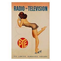 Archie Dickens - Pye Radio and Television - 1950