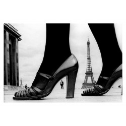 Frank Horvat - Shoe and Eiffel Tower - 1974