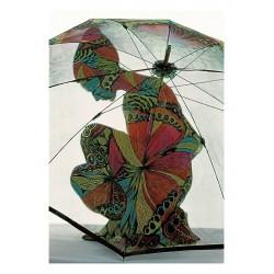 Frank Horvat - Umbrella Color - Harper s Bazaar Cover - 1967