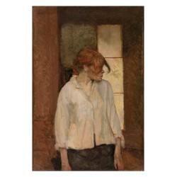 Henri de Toulouse Lautrec - Rosa La Rossa - Paris - 1886