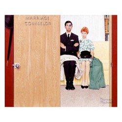 Norman Rockwell - Marriage Counselor