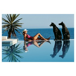 Slim Aarons - assistant Laura Hawk - Pantz Pool -...