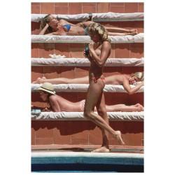 Slim Aarons - Catherine Wilke - Capri Italy - 1980