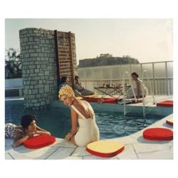 Slim Aarons - Penthouse pool