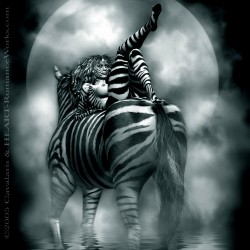 Carol Cavalaris - and Heart - Zebra Woman