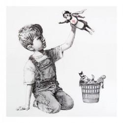 Banksy - Superhero Nurse