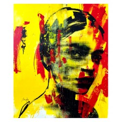 Mario Henrique - Girl in Yellow No2