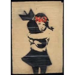 Banksy - Bomb Hugger No -